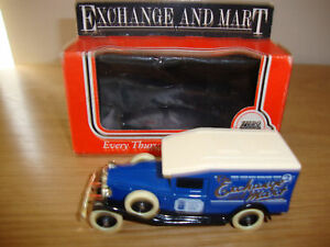 LLEDO-DAYS-GONE-EXCHANGE-AND-MART-PROMOTIONAL-VAN-BOXED