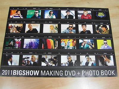 BIGBANG - 2011 BIGSHOW [ORIGINAL POSTER] K-POP *NEW*