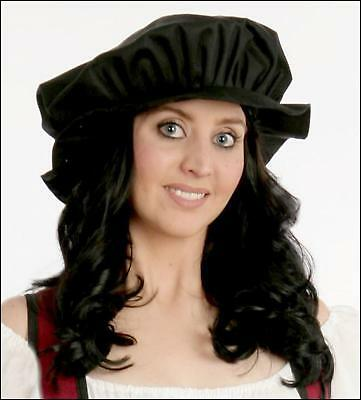RENAISSANCE COSTUME HAT MEDIEVAL SCOTTISH SCA CELTIC PEASANT FLOPPY FLAT CAP A15