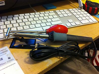 45W Watt Desoldering Iron solder remover suction pump Desolder Tool W/ stand