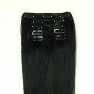 24-034-Clip-in-on-Hair-Extension-100-Human-Hair-60CM-HOT