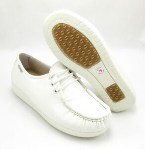 BALL-BAND-W020-WHITE-Comfort-Anti-Slip-Womens-NURSE-Shoes-CUSHIONED-Laces-Light