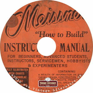Meissner-How-To-Build-It-Manual-Electronics-Plans-Specifications-Book-DVD