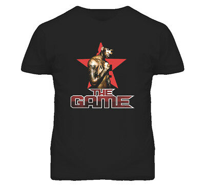 The Game Rapper Jayceon T Shirt Black