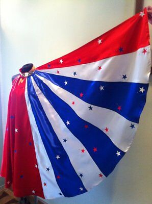 CAPE in stars and stripe , for wonder woman superheroes