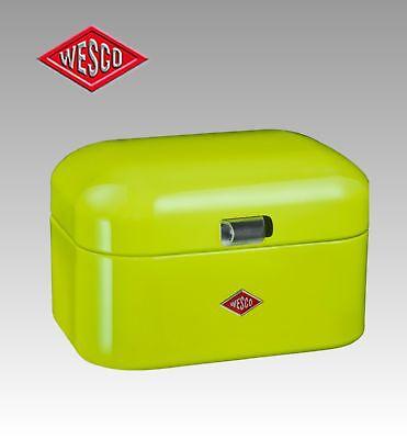 WESCO bread box Bread bowl Single Grandy Retro Design Metal