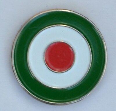 Italian Roundel Mod Target Quality Enamel  Pin Badge