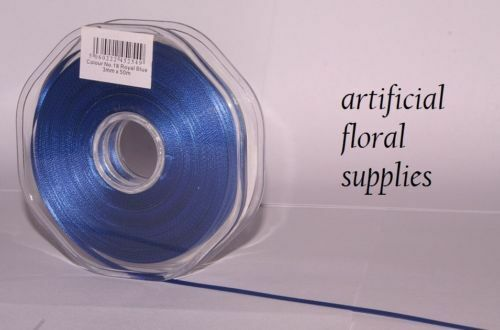 15mm x 20m double faced satin ribbon LARGE CHOICE OF COLOURS