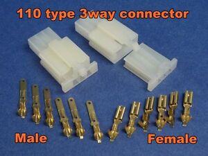 3 pins electrical wire connector terminal socket plug 1 ... 110 plug wiring female 110 male plug wiring diagram