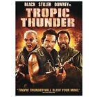 Tropic Thunder (DVD, 2008, Sensormatic Packaging)