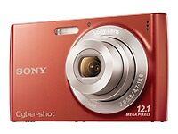Sony-Cyber-shot-DSC-W510-12-1-MP-Digital-Camera-Red