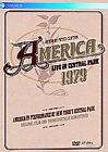 America - Live In Central Park 1979 (DVD, 2009)