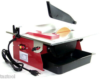 """7"""" Electric Tile Cutter Wet Marble Cutter Circular Saw Top Table   UL"""