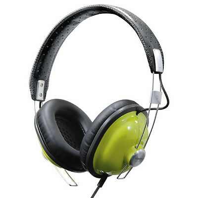 Panasonic RP-HTX7-G1 Monitor Stereo Headphones (Green)