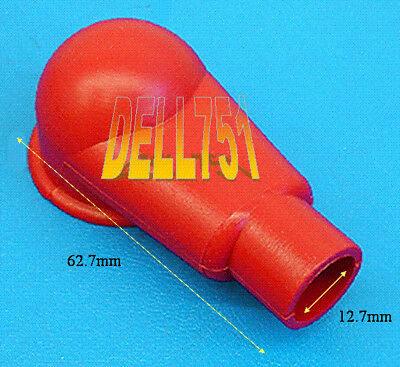 RED RUBBER ANGLED TERMINAL COVER x 2 405N9VO2