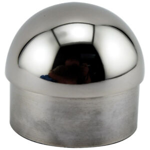 Domed End Cap Polished Stainless Steel 2 Quot Od Home