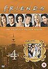 Friends - Series 4 - Complete (DVD, 2010, 4-Disc Set, Box Set)