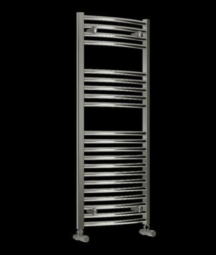 Towel Rail Radiators 400 mm Length Curved Chrome 25 mm