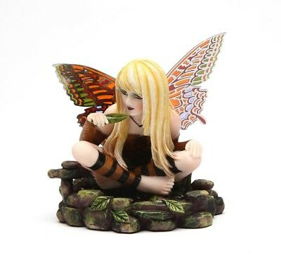 BUTTERFLY WING FAIRY FIGURINE GARDEN AIMEE STATUE OUTDOOR MAGNETIC WING