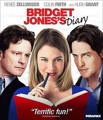 Bridget Jones's Diary [Blu-ray], Good DVD, Felicity Montagu, Paul Brooke, Charmi