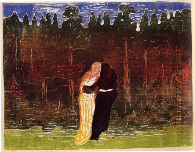 Munch Prints: Towards The Forest - Fine Art Print