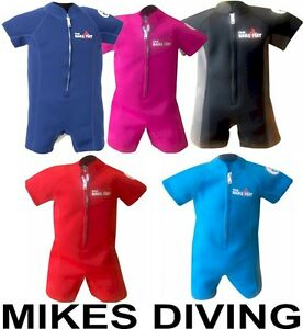 CLASSIC-TBF-KIDS-BABY-WETSUIT-Swim-sun-swimming-infant-Suit-by-Two-Bare-Feet