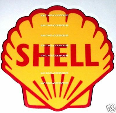 SHELL Oil Racing Gasoline Vinyl Decal Sticker