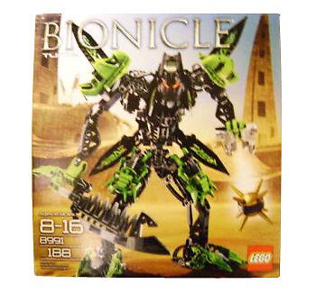 Lego Bionicle   8991 Tuma Nouveau DGSIM Difficile à trouver