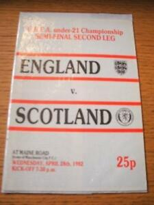 28041982 England U21 v Scotland U21 At Manchester Ci - Birmingham, United Kingdom - Returns accepted within 30 days after the item is delivered, if goods not as described. Buyer assumes responibilty for return proof of postage and costs. Most purchases from business sellers are protected by the Consumer Contr - Birmingham, United Kingdom