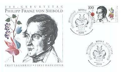Germany 1996 FDC 1842 F Siebold Winogrona Wein Grapes