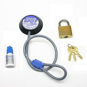 tv lock security kit monitor lock lock down your tv ebay. Black Bedroom Furniture Sets. Home Design Ideas