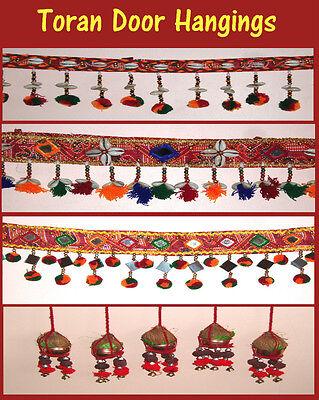 INDIAN TORAN TRADITIONAL DECORATION WALL DOOR HANGING DIWALI CHRISTMAS GIFT