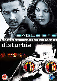 Eagle Eye/Disturbia (DVD, 2009, 2-Disc Set, Box Set)Q