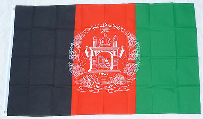 AFGHANISTAN FLAG of the Afghan national Huge 3x5ft NEW middle east