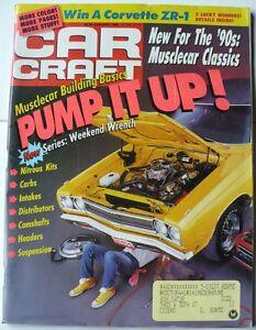 Car craft magazine january 1990 39 71 cuda pontiac stinger for Car craft magazine back issues