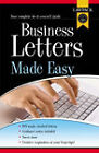 Business Letters Made Easy by Lawpack Publishing Ltd (Paperback, 2005)