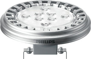 BOMBILLA-PHILIPS-MASTER-LED-spot-10W-50w-Luz-Calida-3000k-G53-AR111-QR111-12V-AC