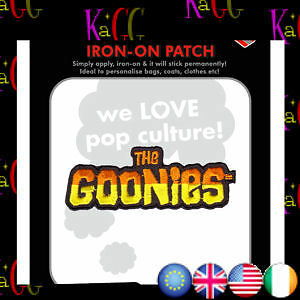 NEW-THE-GOONIES-LOGO-PATCH-BADGE-IRON-ON-PATCHES-BADGES