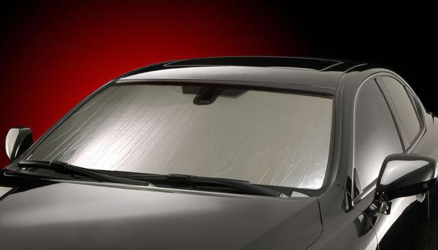 Custom Windshield Sun Shade Challenger / SRT8 Coupe No Sensor Heat Shade DG-79