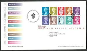 2000 Gb Fdc The Stamp Show Exhibition Souvenir Sheet - 005