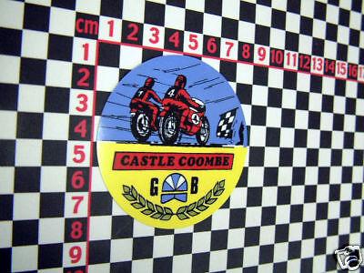 Castle Coombe Sticker Norton Triumph BSA AJS MV Agusta