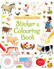 Farmyard Tales Sticker and Colouring Book by Felicity Brooks (Paperback, 2013)