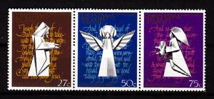 1982-Christmas-Island-Christmas-MUH-Strip-of-3