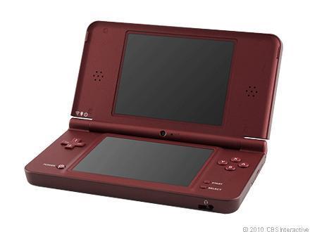 Nintendo DSi XL Launch Edition Burgundy Handheld System - Used