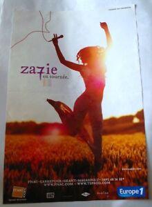 affiche-zazie-7-pop-rock-france-poster-advertisement