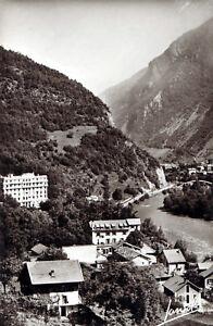 73-La-Lechere-les-Bains-Vue-Generale-Flamme-Postale-1956