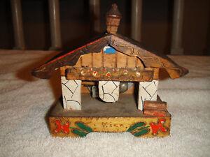Vintage-Japan-Musical-Wood-House-Or-Cottage-Wiek-Name
