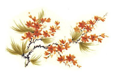 Ceramic Decals KYOTO Oriental Floral Flower Branch