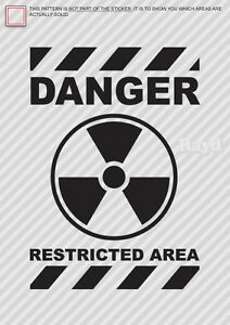 Danger-Restricted-Area-Sticker-Decal-Die-Cut-black