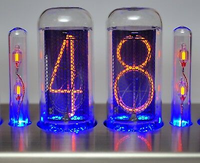 2 CT-IN-18 Nixie Doppelpunkt Röhren Tubes Clock Uhr tube clock colon Bausatz kit